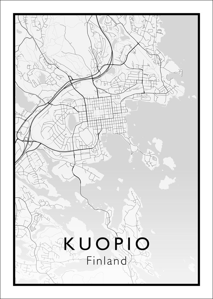 Kuopio Kartta Tulostamo Shop